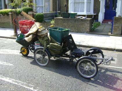 brox recumbent quadcycle